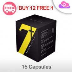 7 Seven Focus Leg Slimming [New Packaging] (15 capsules) 瘦腿王牌胶囊 [新包装] (15粒)