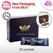 HE Absolute King  (HALAL) 20 sachets New Packaging from AK-II AK2 男性保健之宝 20包