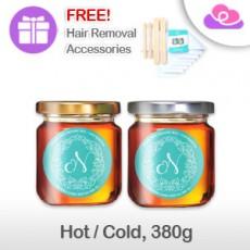 Norah Hair Removal Wax 100% Natural Honey with Tea Tree Oil 380g (HOT/COLD) Norah 天然蜂蜜茶树油脱毛蜡 380g (热用/冷用)