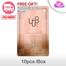[PRE-ORDER] UGB (UGBang) Baby Face Healing Mask 10pcs/Box 童颜面膜 10片/盒