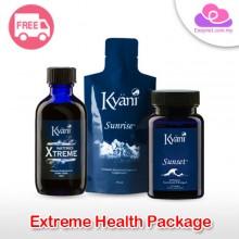 Kyäni Xtreme Triangle of Health Set (Sunrise, Sunset, Nitro Xtreme) 健康三角组合