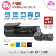 Blackvue DR750-2CH LTE 4G SIM Card Dual-channel Full HD Wifi Cloud Built-in GPS Safety Car DVR Recorder Camera Dashcam 双向高清4G LTE无线上网云端行车记录仪
