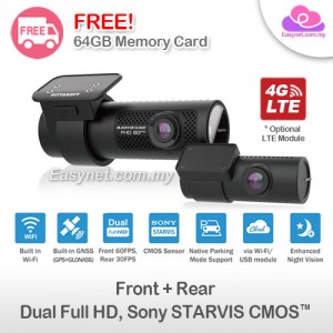 Blackvue DR750X-2CH Full HD 2-channel SONY STARVIS™, Wifi, Cloud, GPS, Parking Mode Car DVR Safety Recorder Camera Dashcam X Series